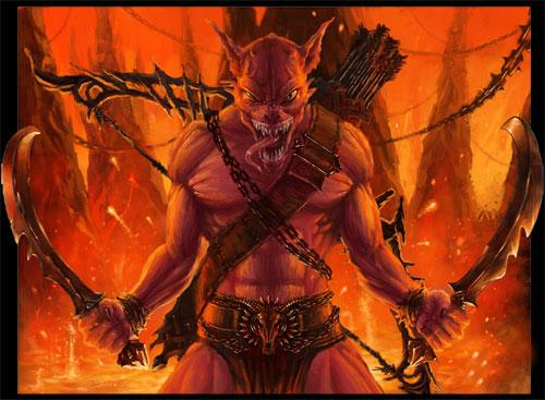 Демон мщения
