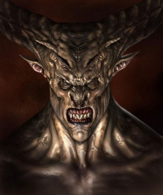 Демон порчи